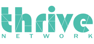 Thrive Network Logo - Green Header - Co-Working Space | Shared Offices | Collaborative Space | Melbourne