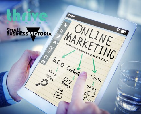 SBV, small business victoria, online marketing, marketing business, SEO, workshops, events, networking events