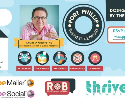 referrals over breakfast, business networking, port phillip business network, networking, events, thrive, coworking, office space, small business tips, small business