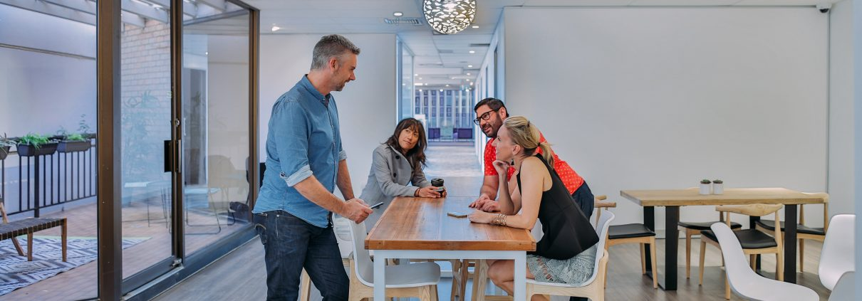 contact us at the thrive network coworking space