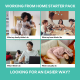working from home vs office space Coworking space south melbourne
